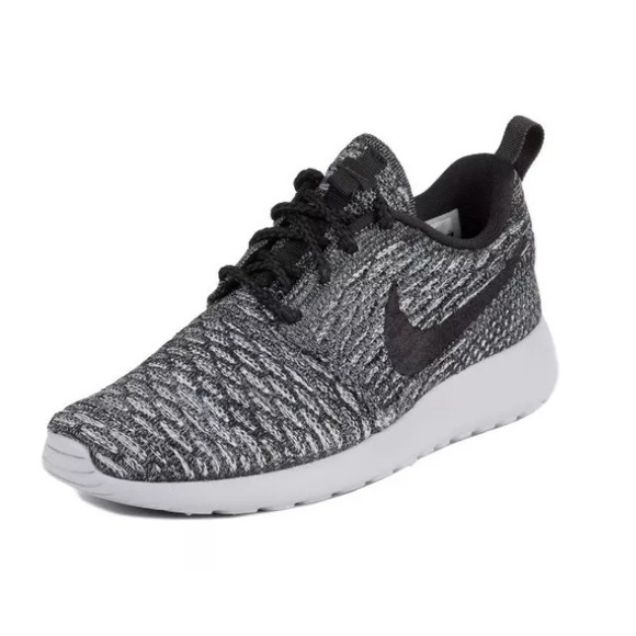 338cfc820e5c Women s Nike Roshe One Flyknit Cool Grey Black