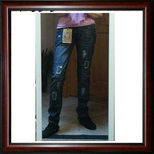 Vigoss Denim - Vigoss Fit & Slender distressed jeans 29