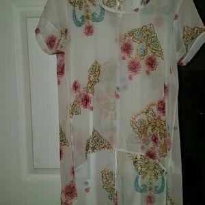 Tops - Printed short sleeve shirt