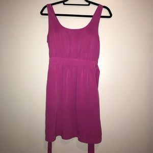 Dresses & Skirts - Forever 21 hot pink purple midi dress