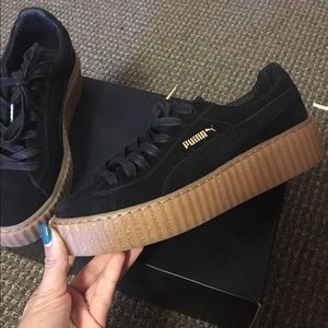 Puma Rihanna Black