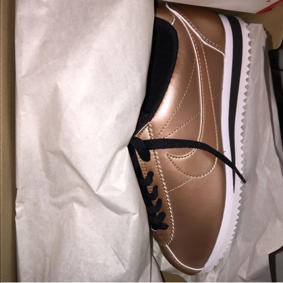 Nike Shoes - Rose Gold Nike Cortez 2940adf456