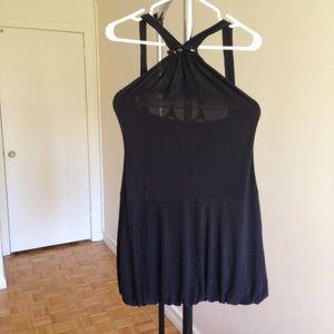 Dresses & Skirts - Short Black Halter Dress