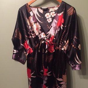 Black Kimono Top Relist