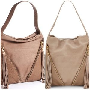 Kelsi Dagger Handbags - Issa Leather Zip Hobo