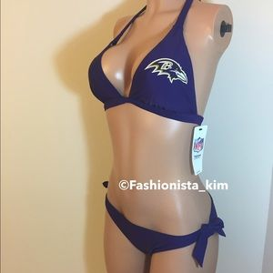 NFL Other - New NFL Baltimore Ravens swim suit bikini set