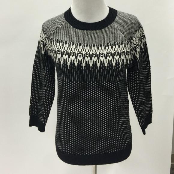 J. Crew - Jcrew merino wool fair isle sweater from Olivia's closet ...