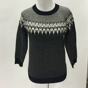 J. Crew Sweaters - Jcrew merino wool fair isle sweater