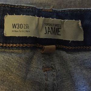 Topshop Jeans - Topshop Jaime Stretch Jeans Size 30/30