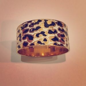 kate spade Jewelry - Leopard Print Bangle
