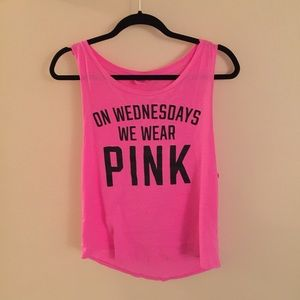 Pink Muscle Shirt | Is Shirt