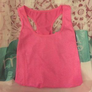 Tops - Bright pink tank top