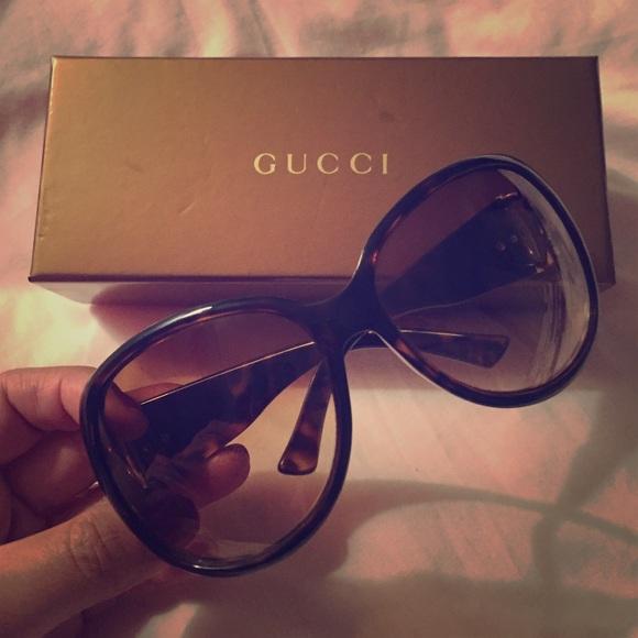 Gucci Accessories - ✨PRICE DROP✨Gucci Tortoise Shell Sunglasses 🕶🐢