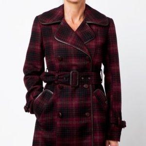 Charlotte Ronson Jackets & Blazers - Plaid coat