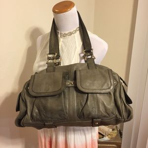Junior Drake Italian leather handbag
