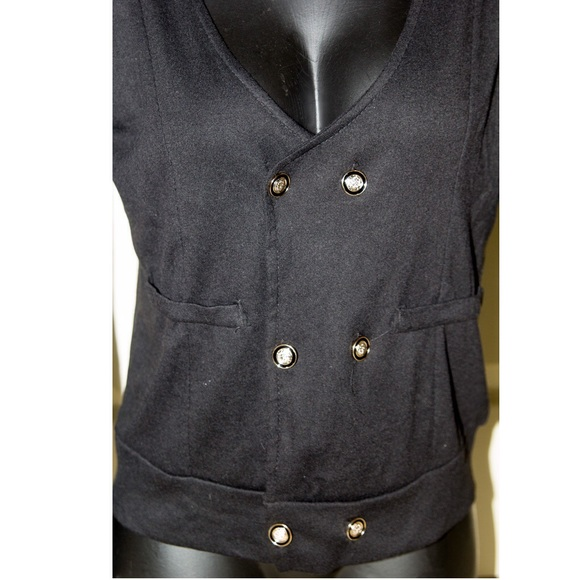 Unlisted Sweaters - 🆕Double Button Cardigan Fall Sweater Jacket Black