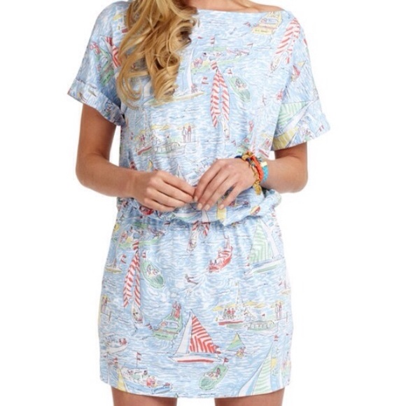 Lilly Pulitzer Dresses - 💐2x HP💐{Lilly Pulitzer} Get Nauti Carmine Dress