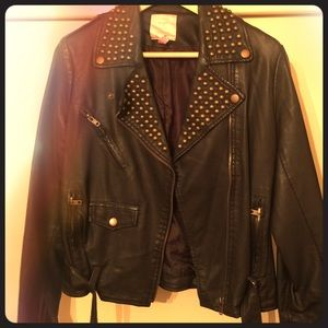 Romeo and Juliet couture brown jacket .