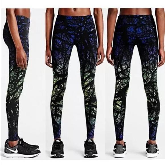 47% off Nike Pants - Nike printed engineered women's ...