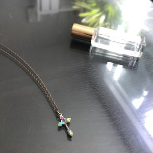 Jewelry - ✨Beads Cross necklace✨