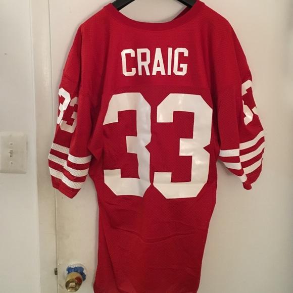 Authentic San Francisco 49ers Roger Craig Jersey