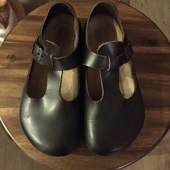 6c570ef198a Birkenstock Shoes - Birkenstock Paris Clogs Mary Jane style
