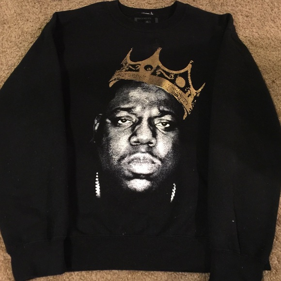 Urban Outfitters Sweaters Pullover Sweatshirt Notorious Biggie