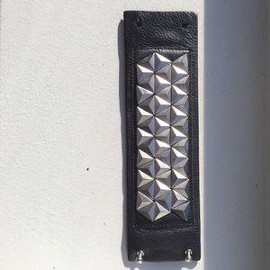 Eddie Borgo leather cuff