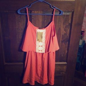 Spool 72 Dresses & Skirts - Spool 72 boutique coral sundress large