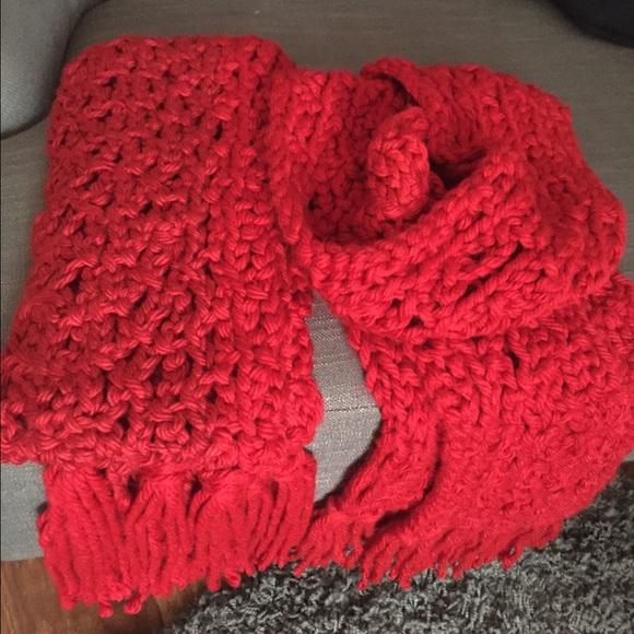 handmade crochet scarf os from kasandra s closet on poshmark