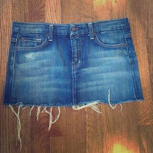 Seven7 Denim - 💞Seven jean skirt