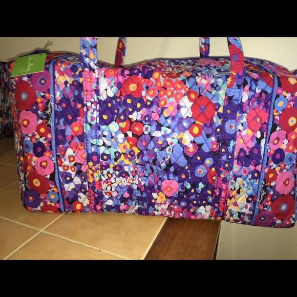 Vera Bradley Bags   Nwt Lg Duffel Bag Impressionista   Poshmark 8a53fc7d29