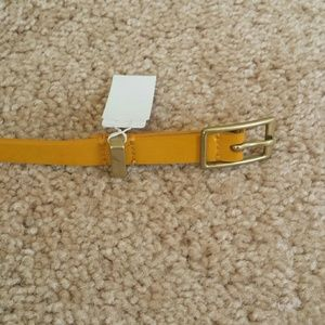 J. Crew Accessories - Patent skinny belt