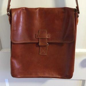 Handbags - Italian leather messenger bag