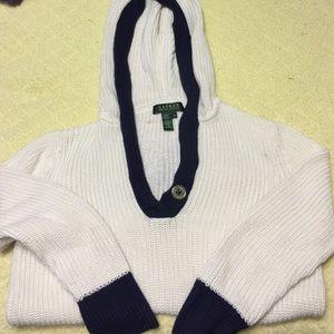Lauren Ralph Lauren hooded sweater.