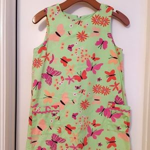 Lilly Pulitzer Dresses & Skirts - Green Butterfly Lily Pulitzer Shift Dress
