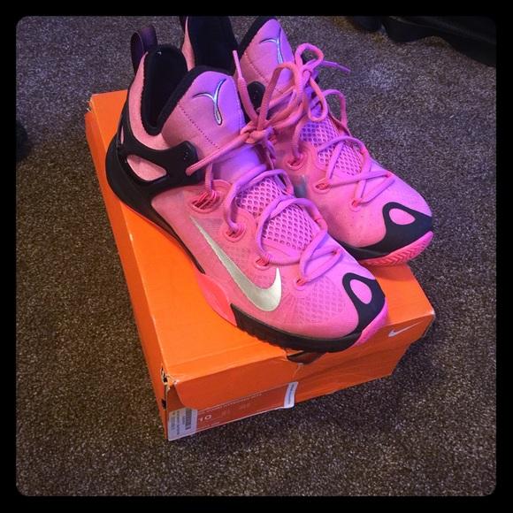 buy online 020f6 2b68b ... basketball shoes multicolor 747212 4791f a2d04  sale nike breast cancer hyper  rev 2015 8d167 7446c