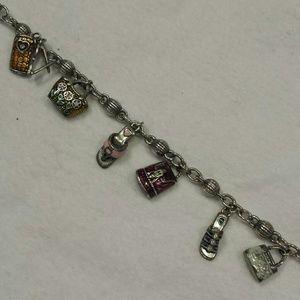 Brighton Sterling Silver Charm Bracelet