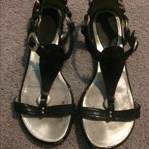Xoxo black sandals - size 6 1/2