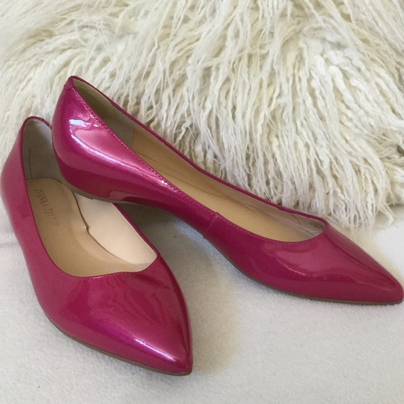 Ivanka Trump BRAND NEW leather pink flats