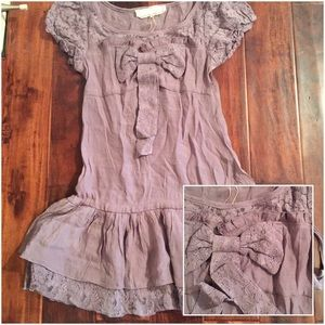 Designer A'reve (lk Anthro) Plum Mini Dress