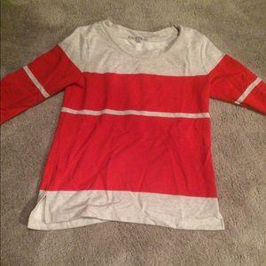 Gap striped knit top - size XS
