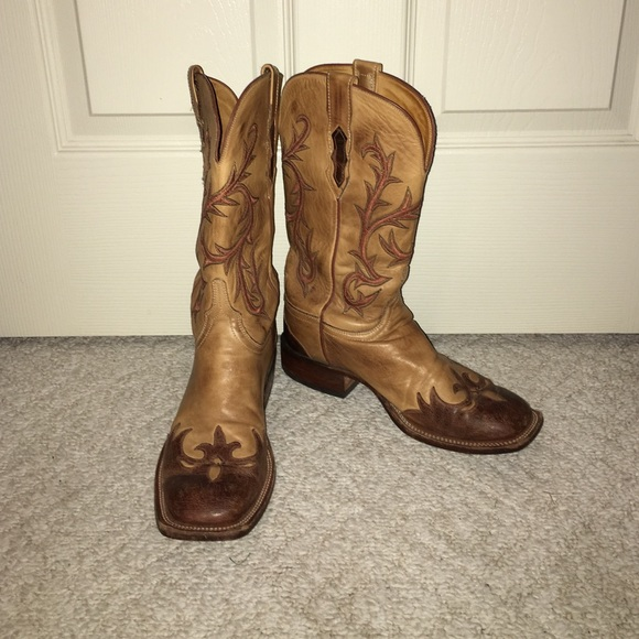 67% off Lucchese Shoes - Beautiful, barely used Lucchese cowboy ...
