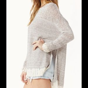 BUNDLED/SOLD FREE PEOPLE HAIKU SWEATER