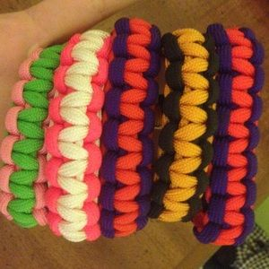 Jewelry - 5 Paracord bracelets