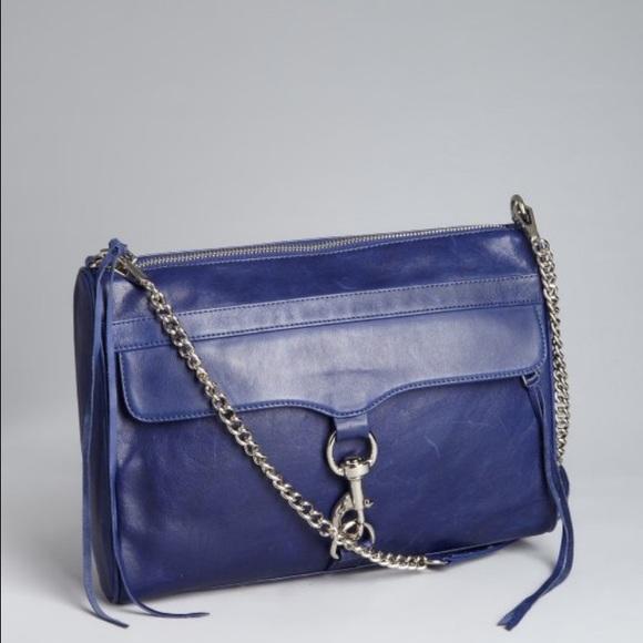 Rebecca Minkoff Handbags - Rebecca Minkoff Blue Mac Daddy handbag