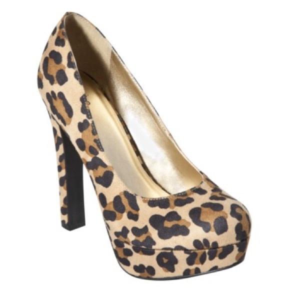 Target Shoes | Leopard Print Heels Size