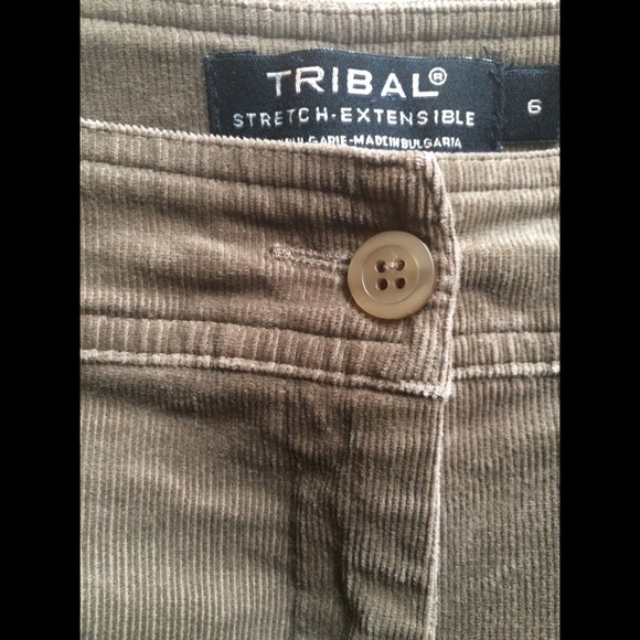 78% off Tribal Pants - Tribal Women's Stretch Extensible Corduroy ...