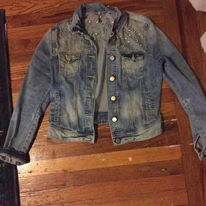 Romeo and Juliet Couture jean jacket
