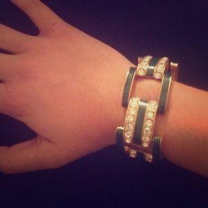 J. Crew costume jeweled bracelet